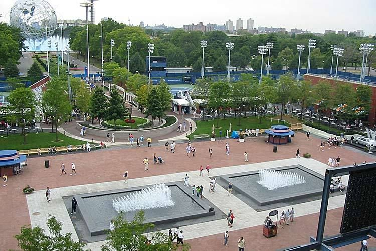 Flushing Meadow Park - Arthur Ashe Stadium Plaza