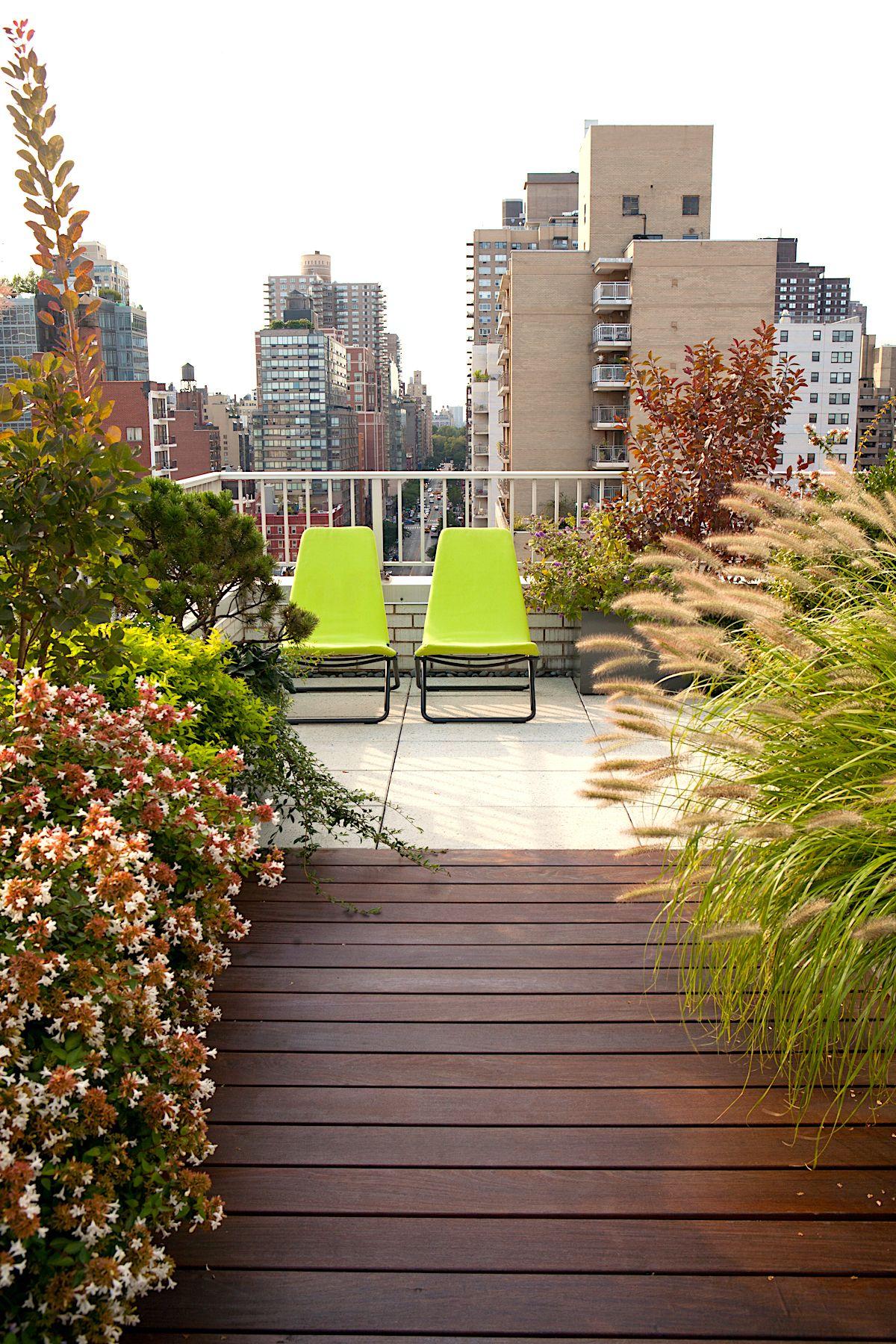 Upper East Side Roof Garden