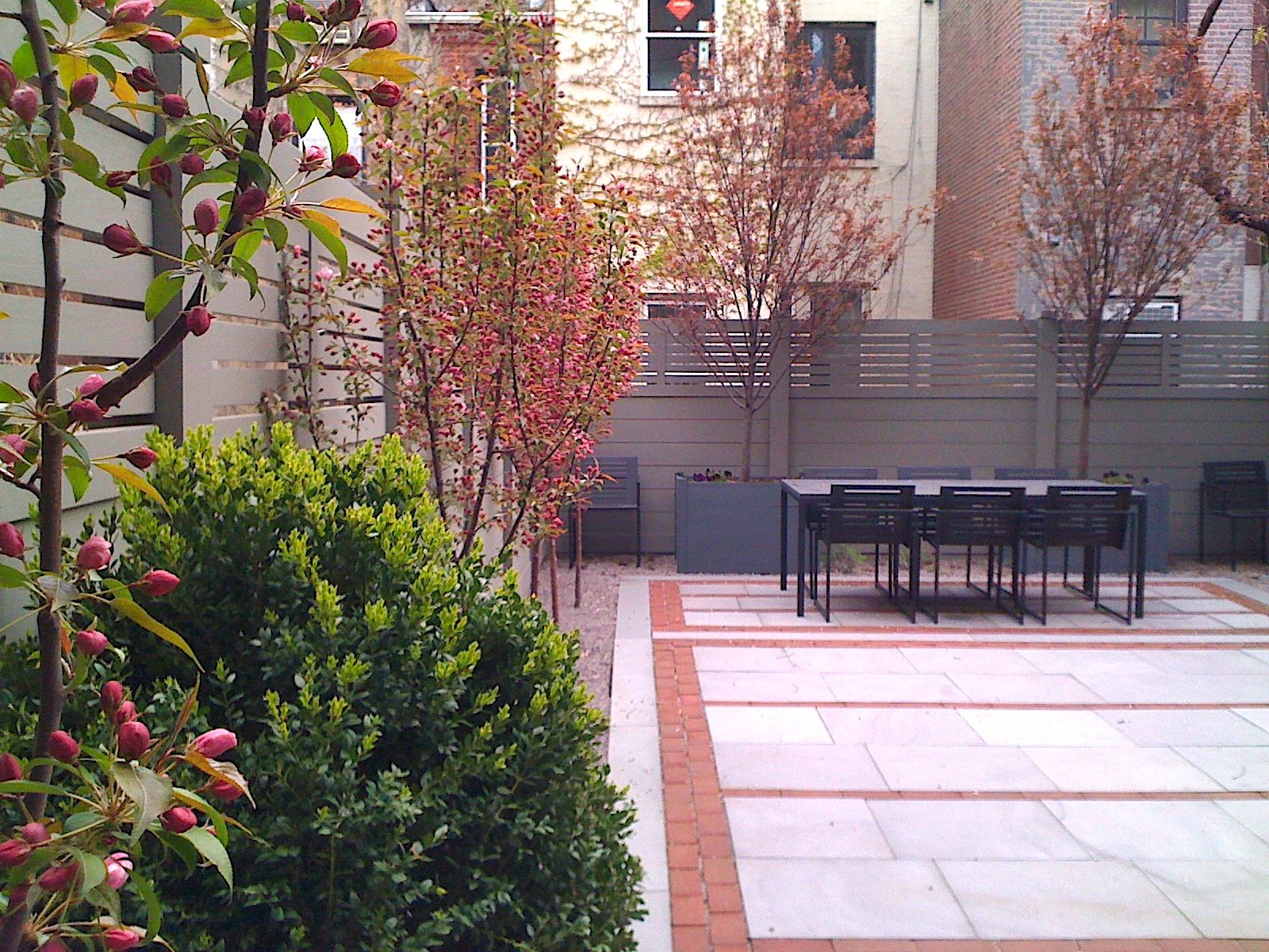 West 77th Street Brownstone Garden
