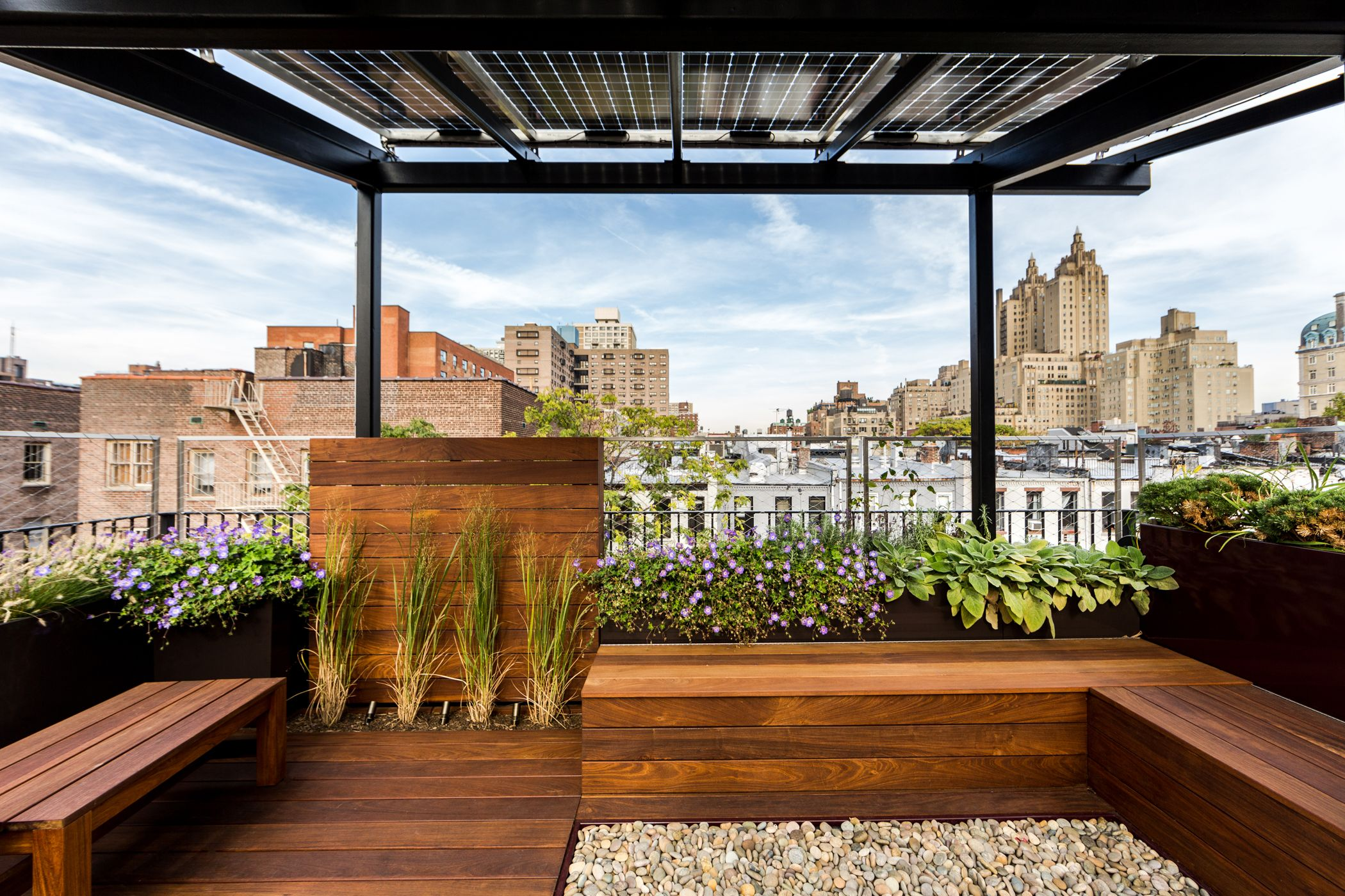 Upper West Side Brownstone Roofgarden