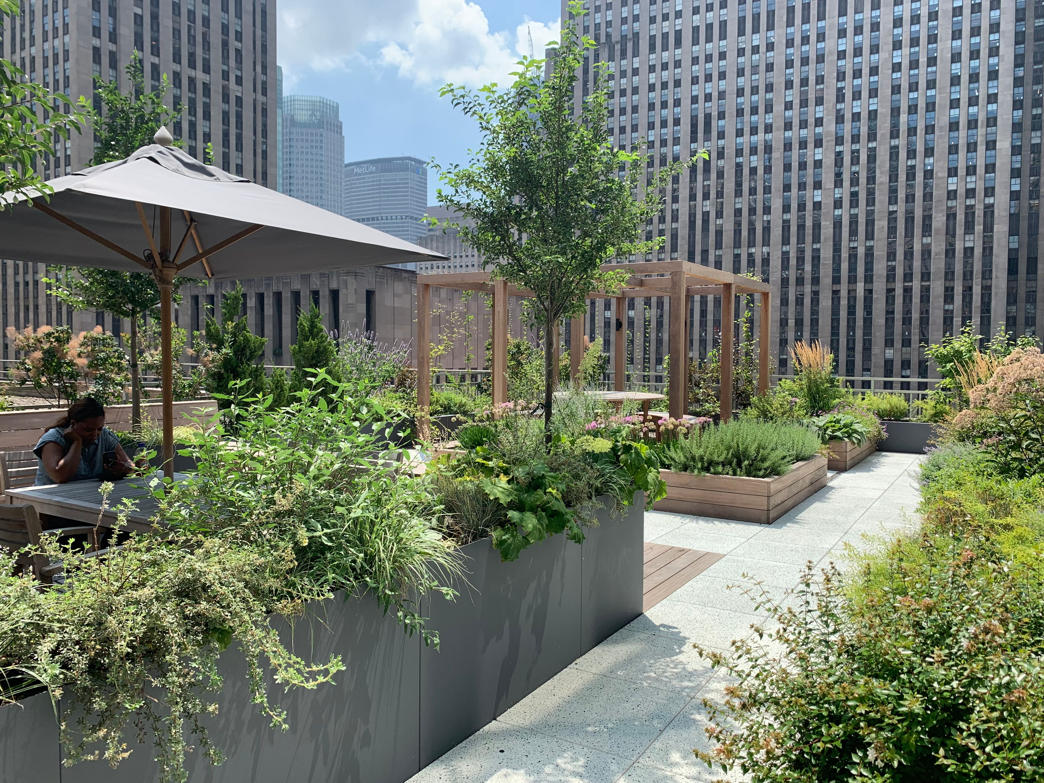 Midtown Oasis - 17th Floor Garden for Law Firm