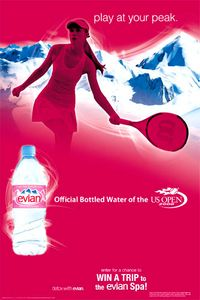 Evian/US Open POP/Origen Partners