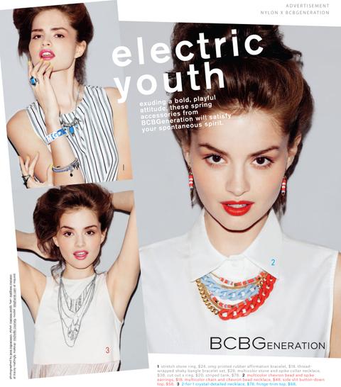 Nylon BCBG Advertorial