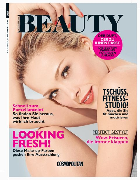 German Cosmo Beauty Cover