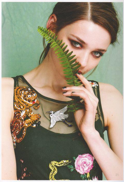 "Nicole Miller ""Dark Side"" Fall Lookbook"