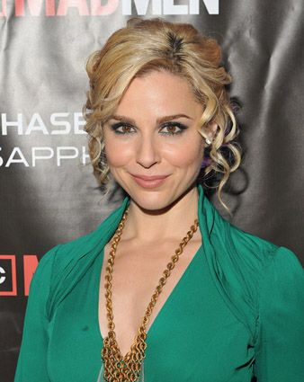 Cara Buono at Mad Men Red Carpet