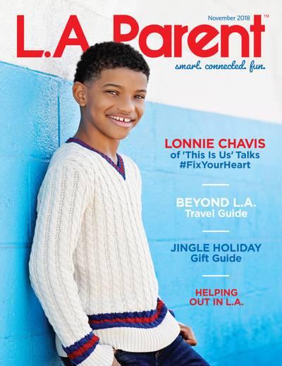 Lonnie Chavis for L.A. Parent Magazine