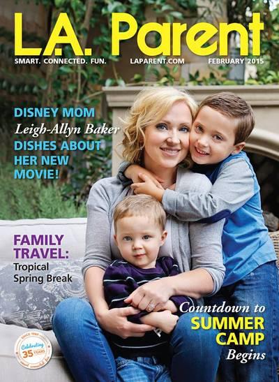 Leigh-Allyn Baker  for L.A. Parent Magazine