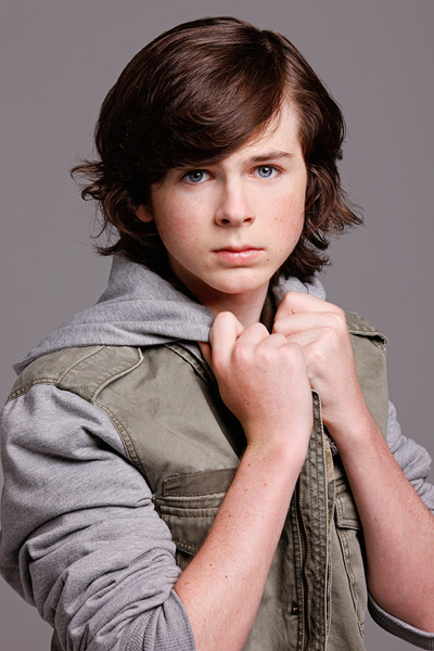 The Walking Dead's Chandler Riggs