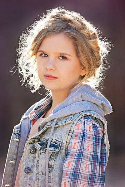 The Walking Dead's Kyla Kenedy