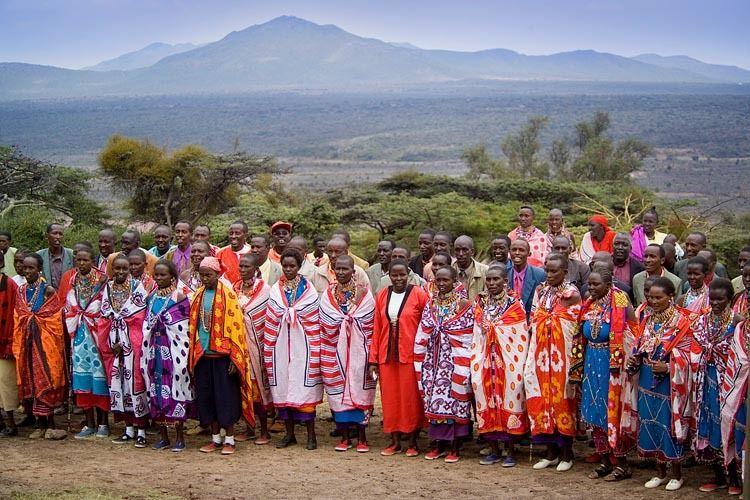Maasaai Line Dance