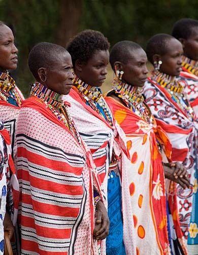 Maasaai Women 1