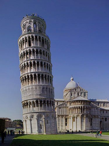 Pisa's Leaning Tower 1