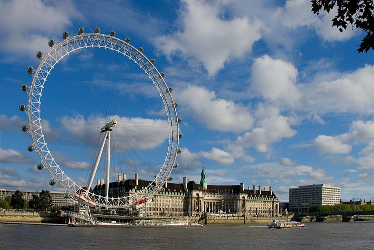 London Eye & County Hall