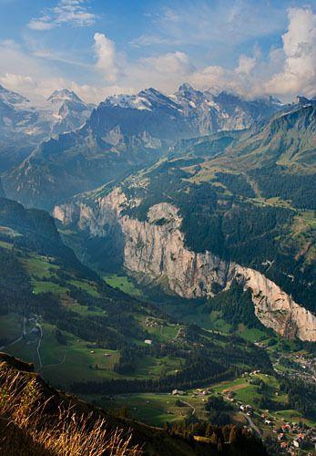 Weisse Lutschine Valley 1