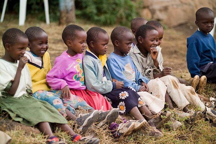 Mwamba Camp Children 1