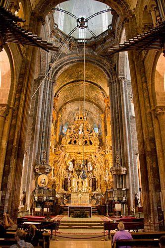 Cathedral de Santiago.
