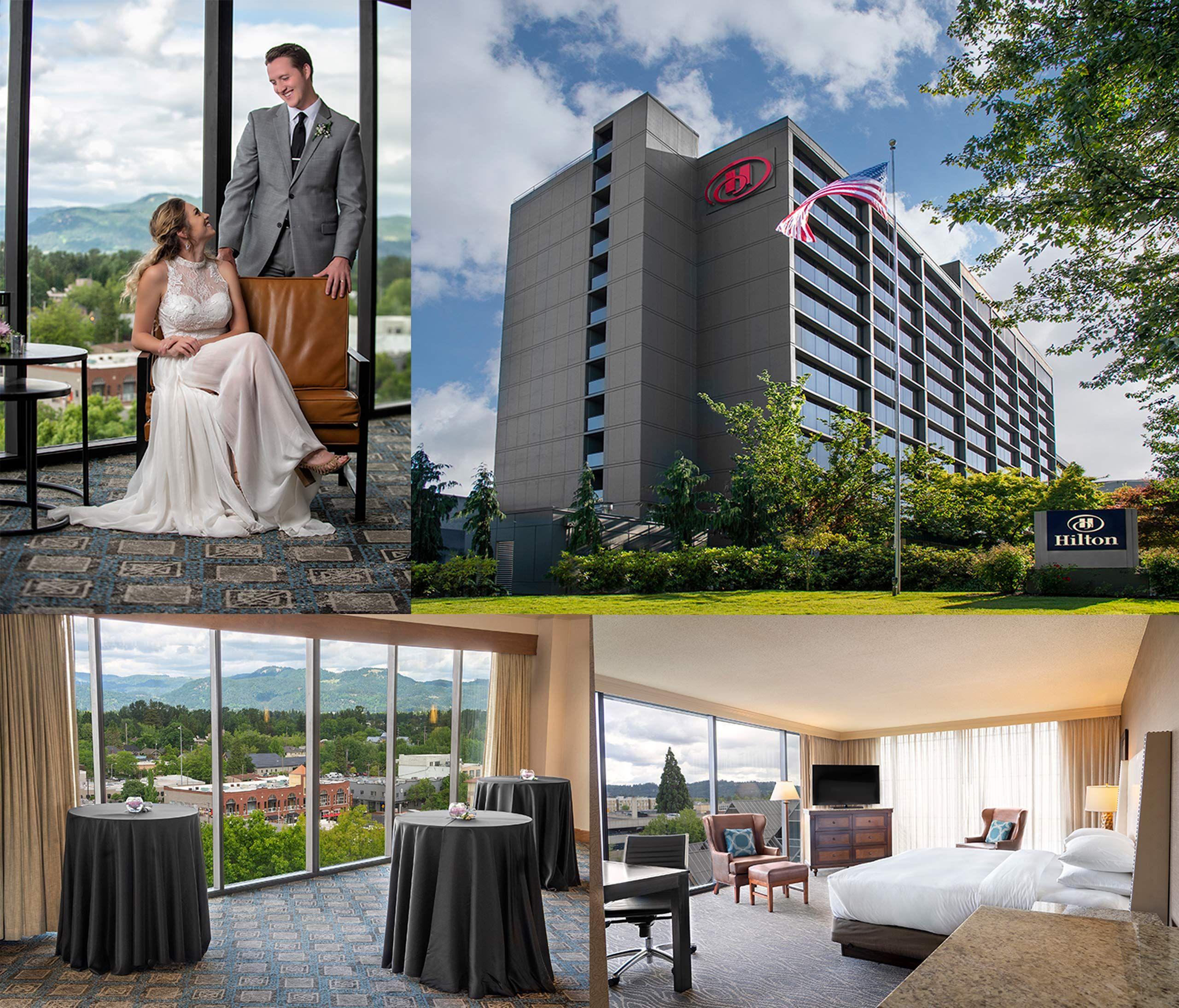 Sampling of Imagery Shot for the Hilton Eugene