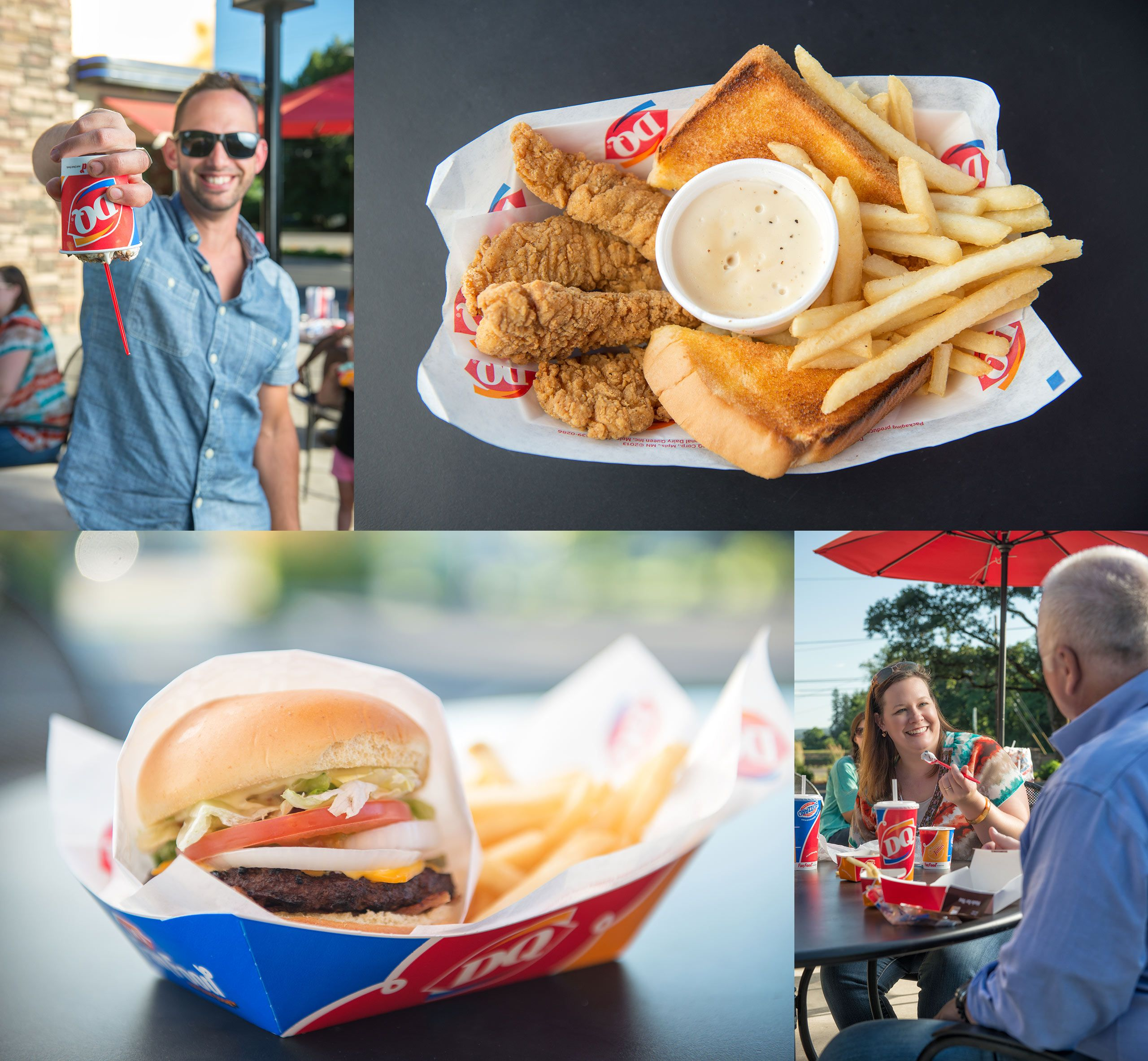 Imagery shot for the Creswell OR Dairy Queen