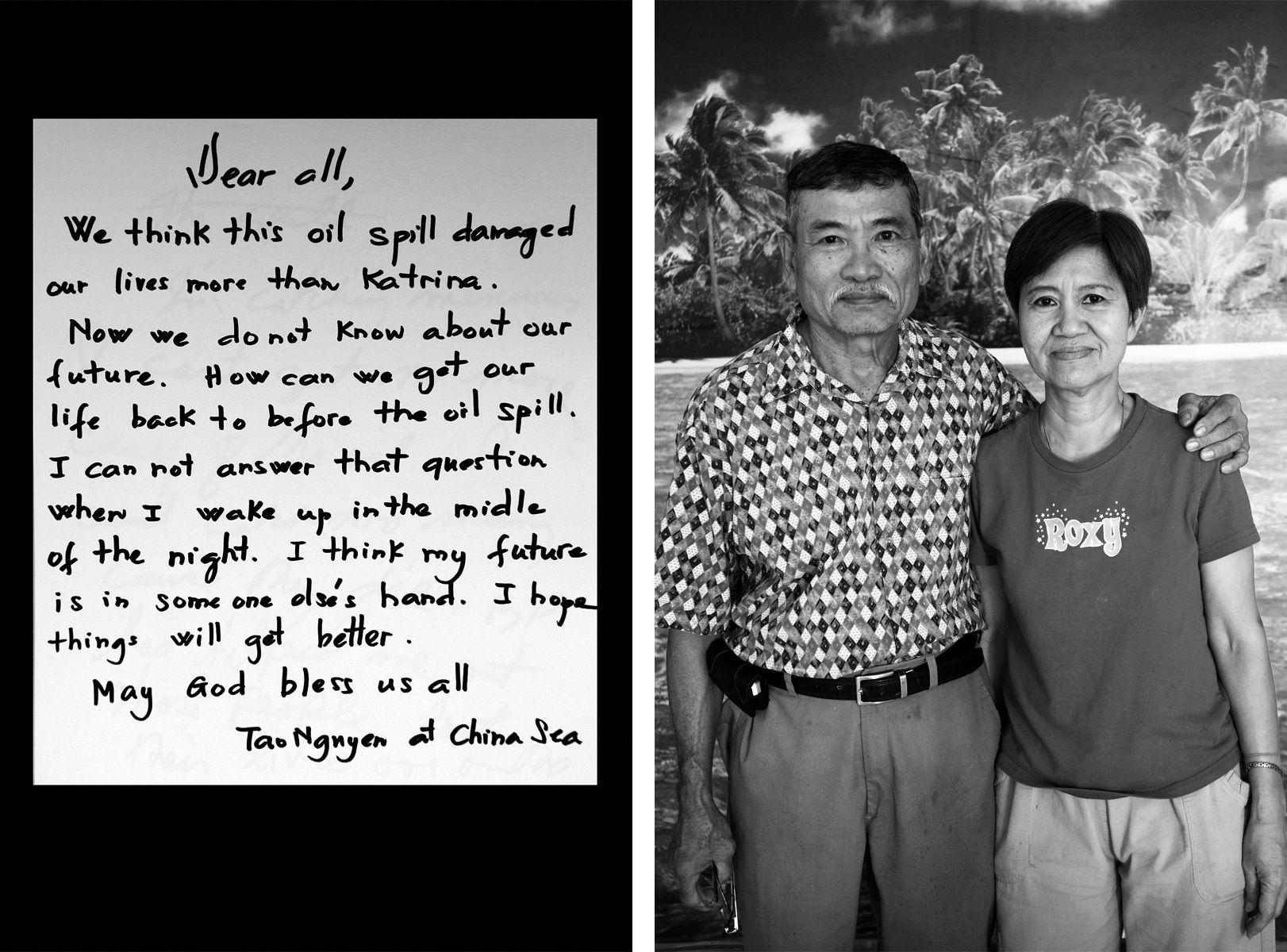 Mr and Mrs Nguyen, Buras, LA 2010