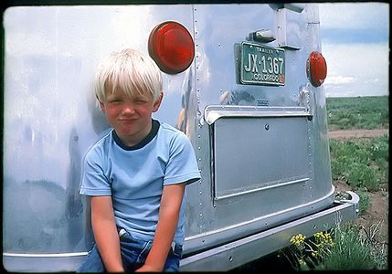 Kid and Trailer