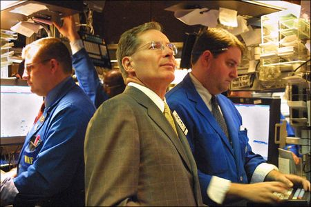 Man in NY Stock Exchange