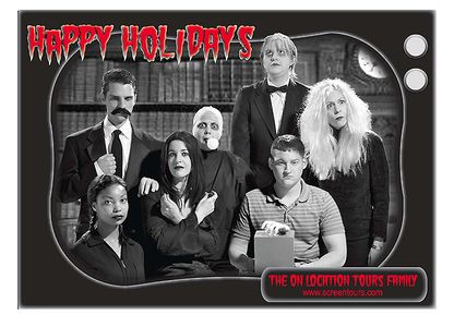 Screentours Addam's Family Card