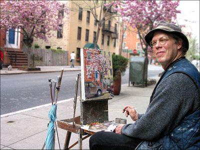Painter-Springtime
