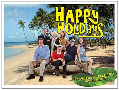 Screentours Gilligan's Island Holiday Card