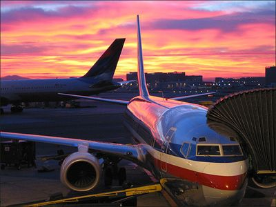 American airlines-Sunrise