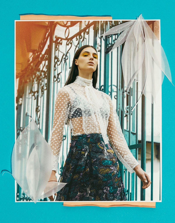 Model: Yvonne Wegener