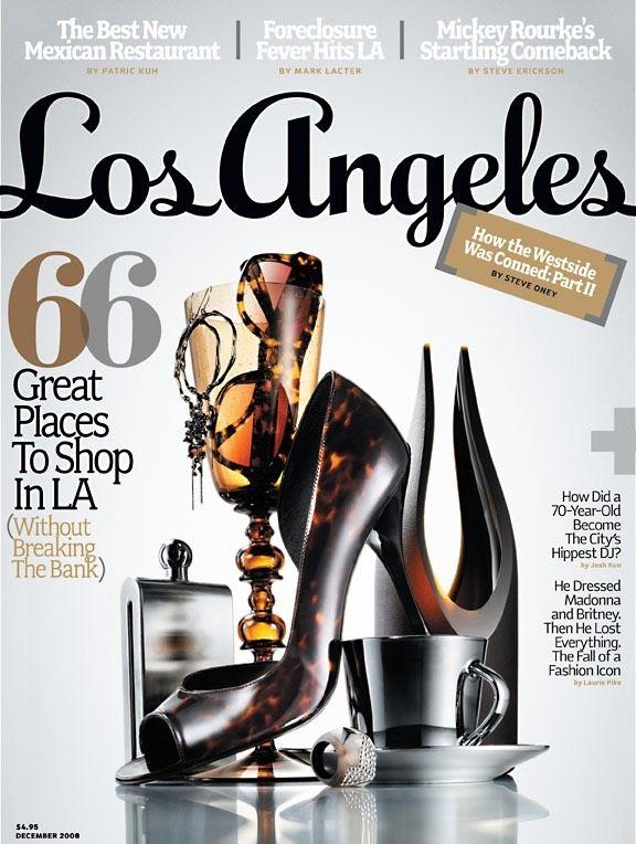 Brian Primeaux Los Angeles Magazine Cover