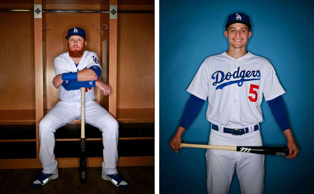 Los Angeles Dodgers Justin Turner & Corey Segar