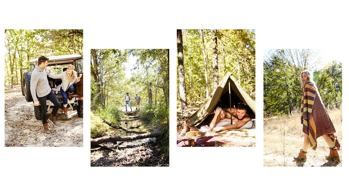Montage of Outdoor Lifestyle Shots