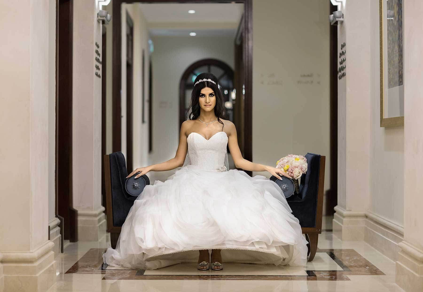 Bride photo shoot in Dubai