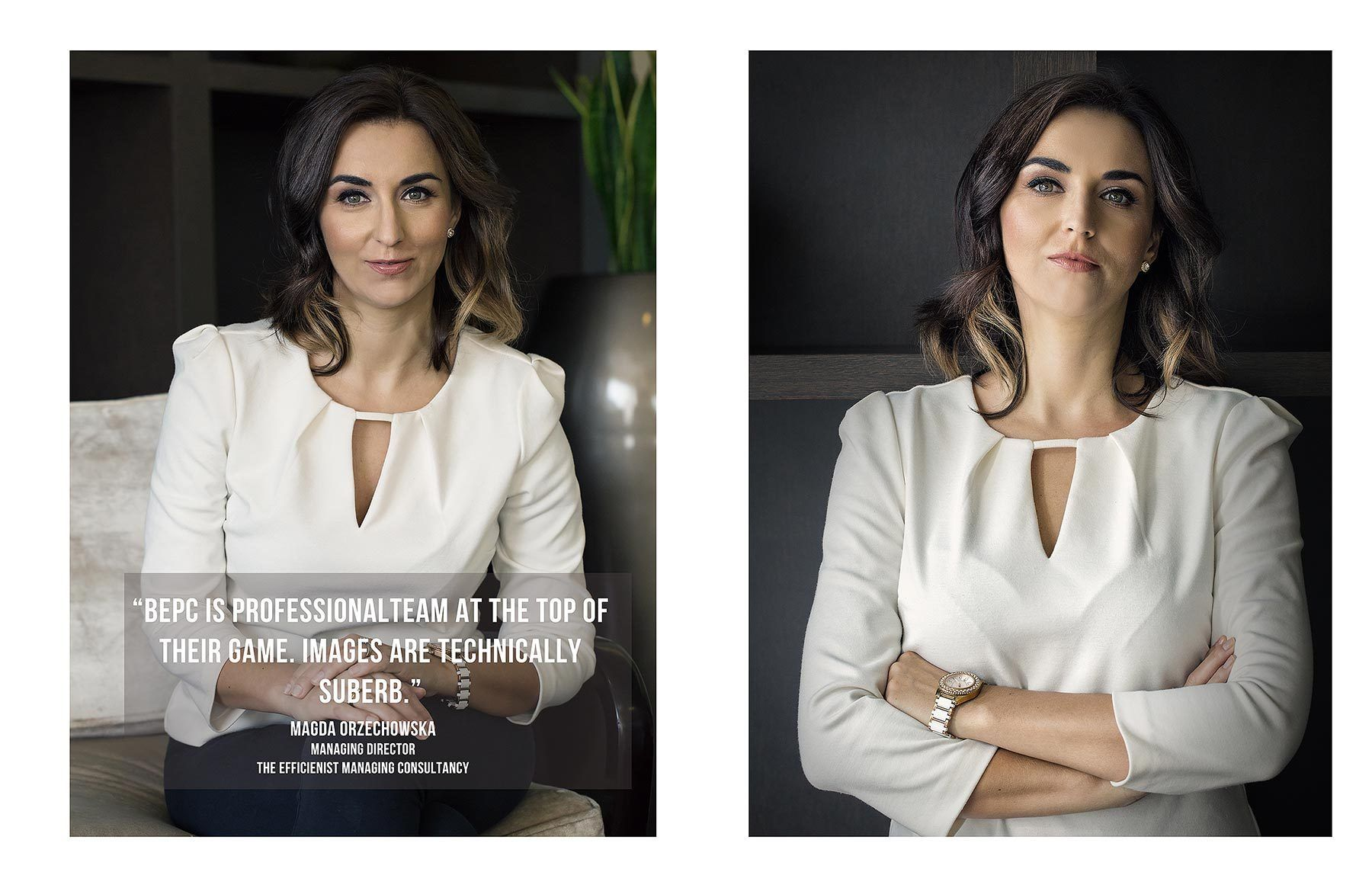 Corporate Photography Testimonials for Blue Eye Picture Studio