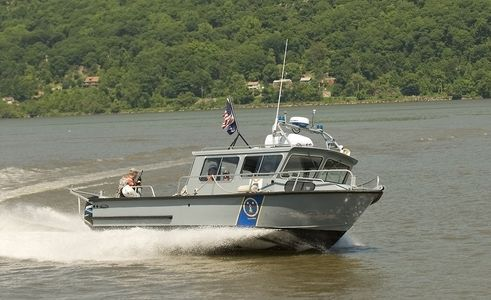 Security on the Hudson.
