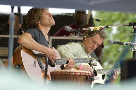 Kevin Bacon at the Clear Water Folk Festival,Croton-on Hudson, New York