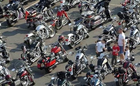 Mary Ann Collura, MAC 136,motorcycle rally.