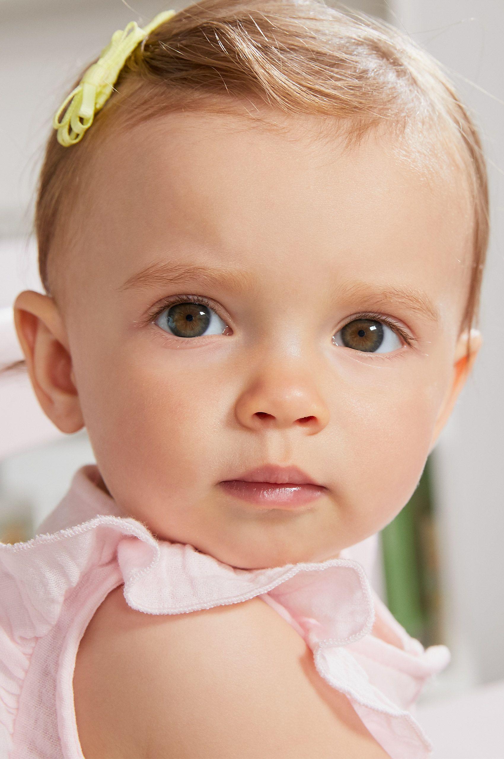 Caucasian baby girl