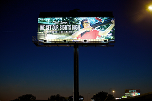 Boy Scouts Banner Outdoor Advertisement