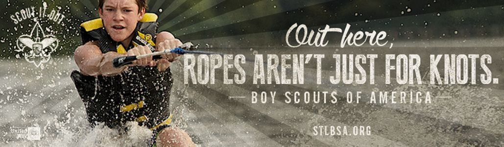 Boy Scouts Banner Advertisement
