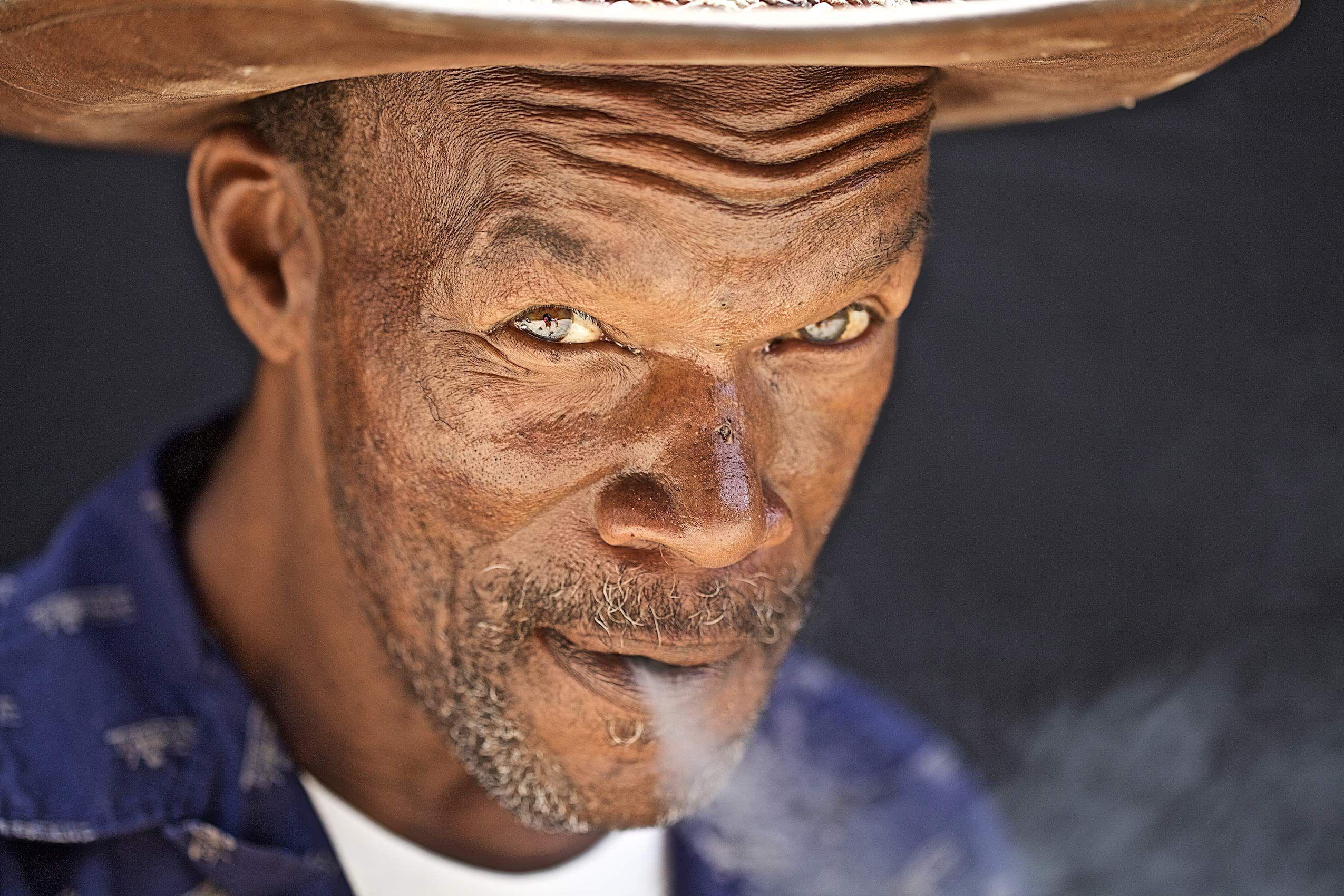 Pat Thomas Smoking