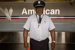 American Airlines Skycap
