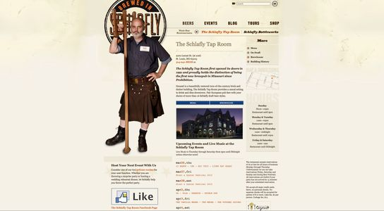 Schlafly Beer Home Page