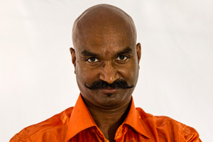 Portrait of a Man From India