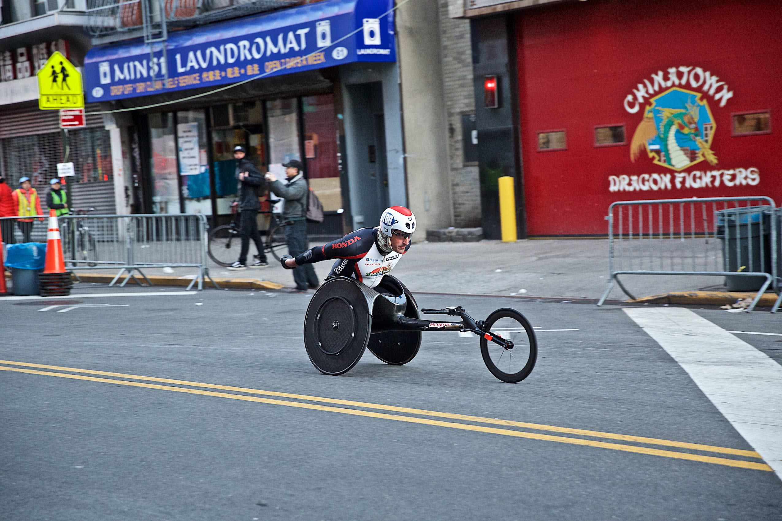A Wheeler  NYC Half Marathon