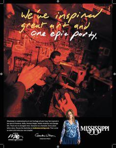 Mississippi Tourism Print Ad Music Bobby Rush