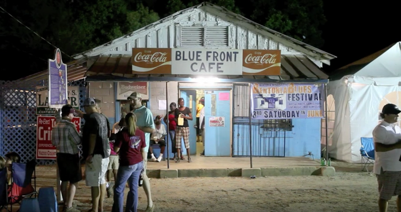 One Minute of the Blue Front Cafe