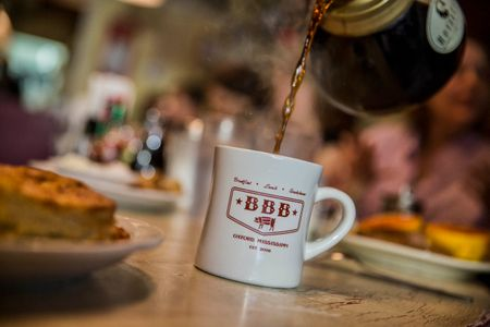 Coffee Pour at Big Bad Breakfast
